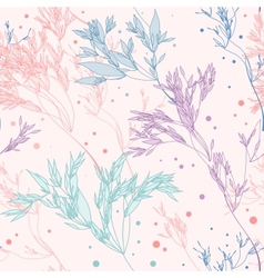Pattern Herbs vector image vector image