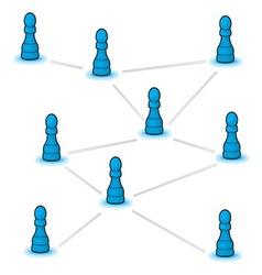 Social network resize vector image