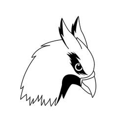 Hippogriff greek mythological creature legendary vector