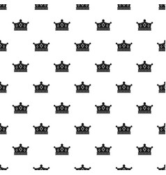 Prince crown pattern vector
