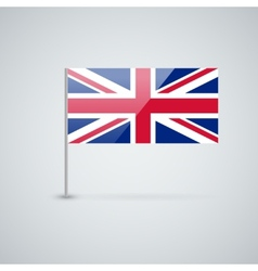 Flag of the uk vector