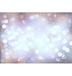 Pastel festive lights background vector