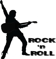 Rock and roll vector