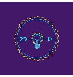 Creative idea logo vector