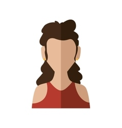 Woman icon avatar design graphic vector
