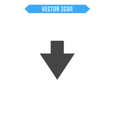 arrow flat icon vector image