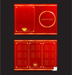 Chinese food restaurant oriental menu 002 vector