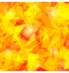 Geometric background of triangular polygons vector image vector image