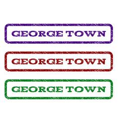 George town watermark stamp vector