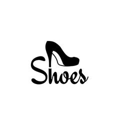 Shoes logo vector