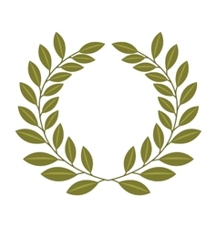 olive tree natural icon vector image