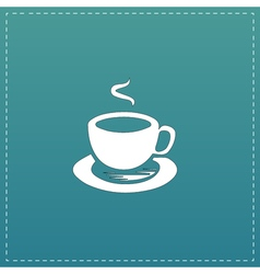Cup of coffe vector