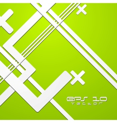 Green colourful technical background vector