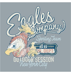 Eagles Company vector image