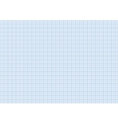 One millimeter graph paper cyan color on a4 size vector