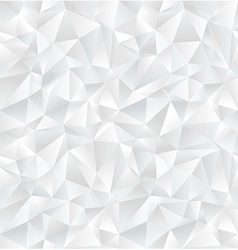 Abstract white geometric seamless pattern vector