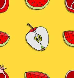 Fruit Patterned Background vector image