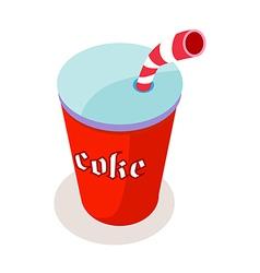 Icon coke vector