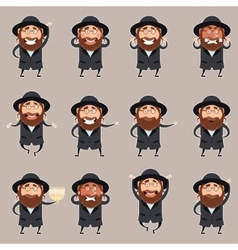 Set of jews2 vector