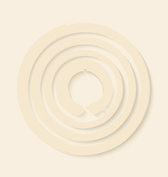 Zen circles design vector