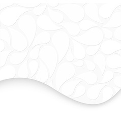 Abstract white backgroundt vector image