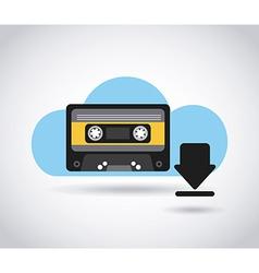 digital music vector image