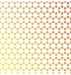 Dotted background in hexagonal arangement vector