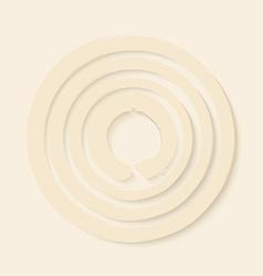 Zen circles design vector
