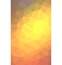Low poly geometric abstract backgroud for brochure vector