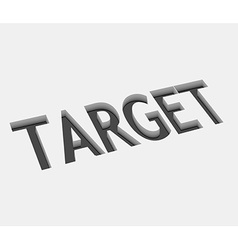 target design vector image