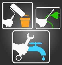 Symbols for service vector