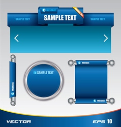 Web template designe vector