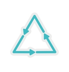 Arrow direction infographic icon graphic vector