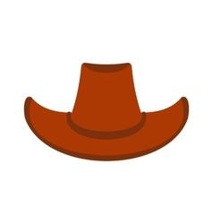 Cowboy hat icon vector