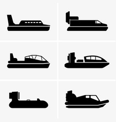 Hovercrafts vector
