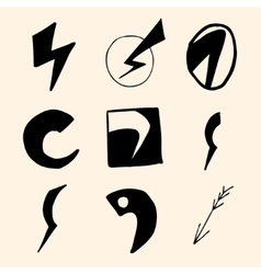 Flash symbols vector