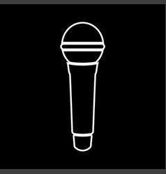 microphone it is icon vector image vector image