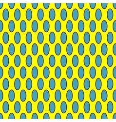 Oval geometric seamless pattern 5111 vector