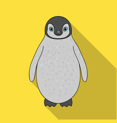 penguinanimals single icon in flat style vector image