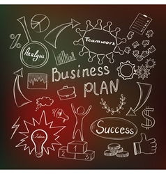 Business inspiration concept vector image