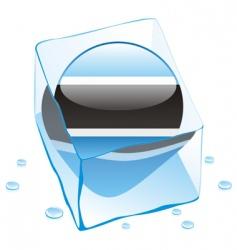 Botswana flag vector image vector image