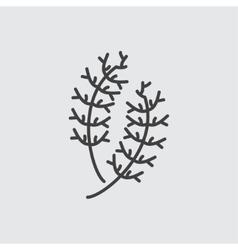 Dill icon vector