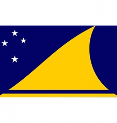 Tokelau flag vector