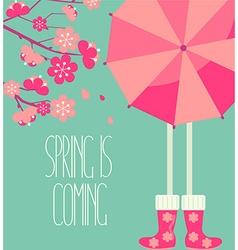 a spring season vector image