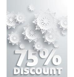Discount percent vector image vector image