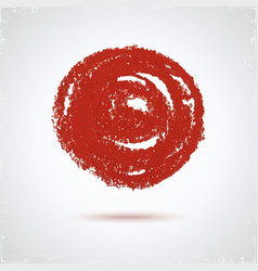 Grunge paint circle vector