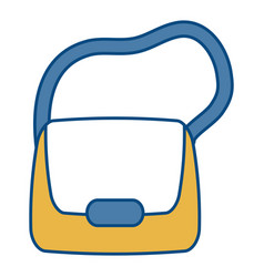 handbag icon image vector image