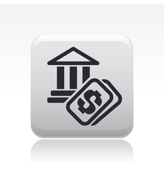 historical site cost icon vector image vector image