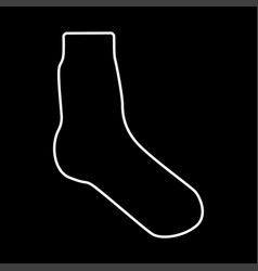 sock it is icon vector image