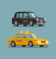 Taxi service cab concept car vehicle transport vector